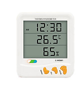 Electronic Digital Display Hygrometer C-WS901 Big Screen With the Alarm Time