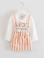 FanXingBeiYiGirl's Going out Print Dress / Tank & Cami / BlouseCotton / Polyester Summer / Fall Black / Blue / Orange
