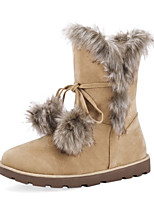 Women's Boots Fall / Winter Snow Boots / Comfort / Shoes & Matching Bags / Novelty LeatheretteOutdoor / Dress /