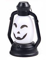 (Pattern is Random)1PC Halloween Decorations Horror Ghost Light Led Colorful Lantern Pumpkin Lamp