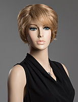 Human Hair Shaggy Anti Alice Hair Capless Short Side Bang Wig