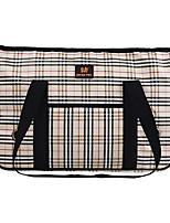 Cat / Dog Carrier & Travel Backpack / Sling Bag Pet Carrier Portable Khaki Textile