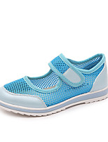 Girl's Sandals Summer Sandals Casual Flat Heel Magic Tape Blue / Pink Walking