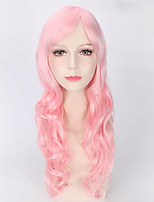 Fashion Wigs Pink Color Afro Women Synthetic Wigs