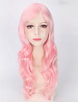 la mode des perruques de couleur rose femmes afro perruques synthétiques