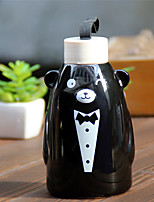 1PC Little bear Portable Cup Of Cartoon Color Sleeve  Couples The Cup