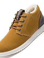 Men's Sneakers Spring / Fall / Winter Comfort Casual Flat Heel Lace-up Blue / Yellow / Gray Others