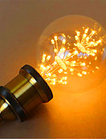 G95LED All Over The Sky Star Edison Light Bulb Decorative Fashion 220V 2W 2300K E27 Warm Yellow