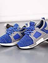 Unisex Sneakers Spring / Fall Flats Rubber Outdoor Flat Heel Others Blue Sneaker