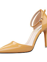 Women's Heels Summer Heels Patent Leather Casual Stiletto Heel Others Black / Yellow / Purple / Red / Silver Others