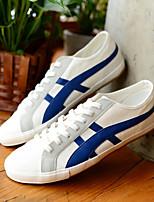 Белый-Мужской-Для прогулок / На каждый день-Полотно-На плоской подошве-Удобная обувь-Мокасины и Свитер
