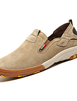 Men's Loafers & Slip-Ons Spring / Fall Comfort Suede Outdoor / Casual Flat Heel Others Yellow / Khaki Walking