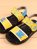 Boy's Sandals Summer Sandals / Open Toe Leather Casual Flat Heel Others Blue / Yellow / White Others