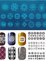 Nail Art Stamping Plate Стампер скреперов 12*6