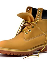 Unisex Boots Spring / Summer / Fall / Winter Combat Boots Microfibre Outdoor / Athletic / Casual Brown / White Sneaker