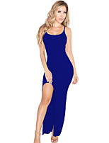 Women's Cami Slit Maxi Jersey Dress