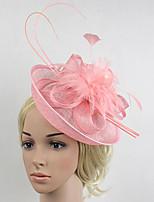 Women's Feather / Net Headpiece-Wedding / Special Occasion Birdal Fascinators 1 Piece