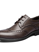 Men's Oxfords New Arrival/Fashion Style/Genuine Leather/Office & Career/Casual  Black/Brown