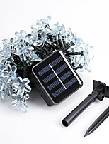 1PC 5M  50Led  Solar Energy String Light For Holiday Party Wedding Led Christmas Lighting