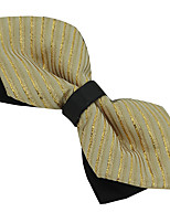 Men Adjustable Polyester Silk Men Casual Bow Tie