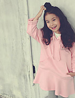 Girl's Going out Solid Overall & JumpsuitCotton Winter / Spring / Fall Pink / White