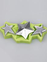 Three-pointed star silicone cake mold decoration chocolate mold fondant cake tools