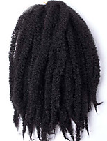 M1B/30# Long Size 18-20 Kanekalon Afro Kinky Braids Twist Havana Curly Synthetic Hair Braids