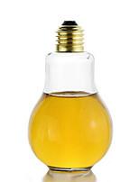 200ML Creative Eye-catching Light Bulb Shape Tea Fruit Juice Drink Bottle Cup Plant Flower Glass Vase