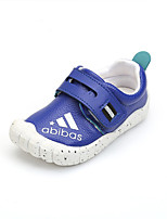 Boy's Sneakers Fall / Winter Round Toe PU Casual Flat Heel Slip-on Black / Blue / Yellow / White / Silver / Tan Others