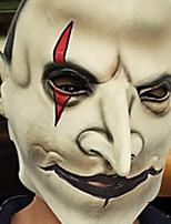 halloween celoobličejovou hrůza grimasa maska maškaráda party v kostýmech pohybující se téma šaty viděl maska tvář kápě