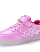 Girl's Sneakers Fall / Winter Comfort / Round Toe / Flats Party & Evening / Athletic / Casual Flat Heel Magic Tape / LED