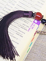 Bookmark Brown Tassel Metal Complex Classical Antiquity Chinese Style National Wind Palace Gift Stationery Student