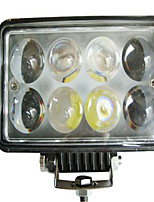 LED Car Work Lights Square Repair Repair Lights Highlight Off-Road Vehicle Dome Light