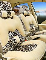 леопард автокресло подушка крышка плюша теплая зима