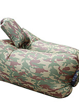 Ultralight Inflatable Lazy Sofa with Pillow Beach Chair for Leisure Activities Camouflage