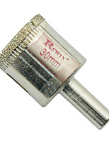 furos de vidro aço ferramenta rewin buraco abridor de 2pcs tamanho 30mm / box