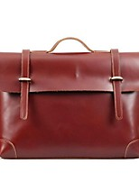 Men Cowhide Casual Satchel