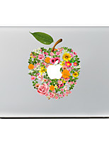 1 pièce Anti-Rayures Fleur En Plastique Transparent Décalcomanie Motif PourMacBook Pro 15'' with Retina MacBook Pro 15 '' MacBook Pro