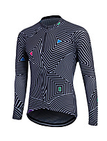Men Winter Thermal Fleece MTB Bike Bicycle Sweat Long Sleeve Cycling Jersey Outdoor Sport Running Jacket