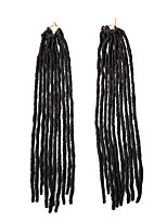 Faux Locs  MT1B/33 Synthetic Hair Crochet Braids 18inch Kanekalon 24 Strands 90g