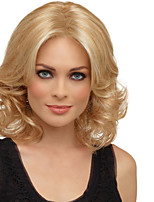 сексуальная блондинка длина средней жаростойкий полный парик волос