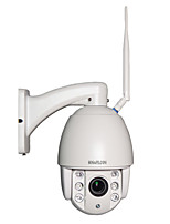 HOSAFE 960P 4X Zoom Auto Focus Mini Speed Dome PTZ WIFI IP Camera Built in 64G TF Card Night Vision Motion Dection