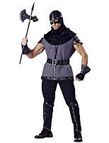 Costumes Plus de costumes Halloween Noir / Gris Couleur Pleine Térylène Haut / Pantalon / Plus d'accessoires