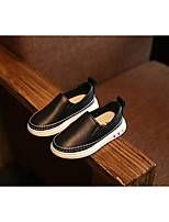 Unisex Loafers & Slip-Ons Fall Closed Toe PU Casual Flat Heel Others Black / Pink / White Others