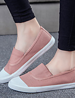 Summer Comfort Canvas Outdoor Flat Heel Others Black / Red / White Walking