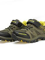 Boy's Sneakers Spring / Fall Comfort PU Casual Flat Heel Brown / Green Sneaker