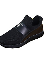 Men's Sneakers Spring / Fall Comfort Fabric Casual Flat Heel Black Sneaker