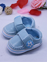 Girl's Flats Summer Ballerina / Round Toe Leatherette Casual Flat Heel Flower Black / Blue Others