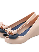 Women's Sandals Summer Sandals / Open Toe Rubber Casual Wedge Heel Bowknot Others