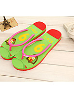 Unisex Slippers & Flip-Flops Summer Comfort Cotton Casual Flat Heel Others Green / Red Others